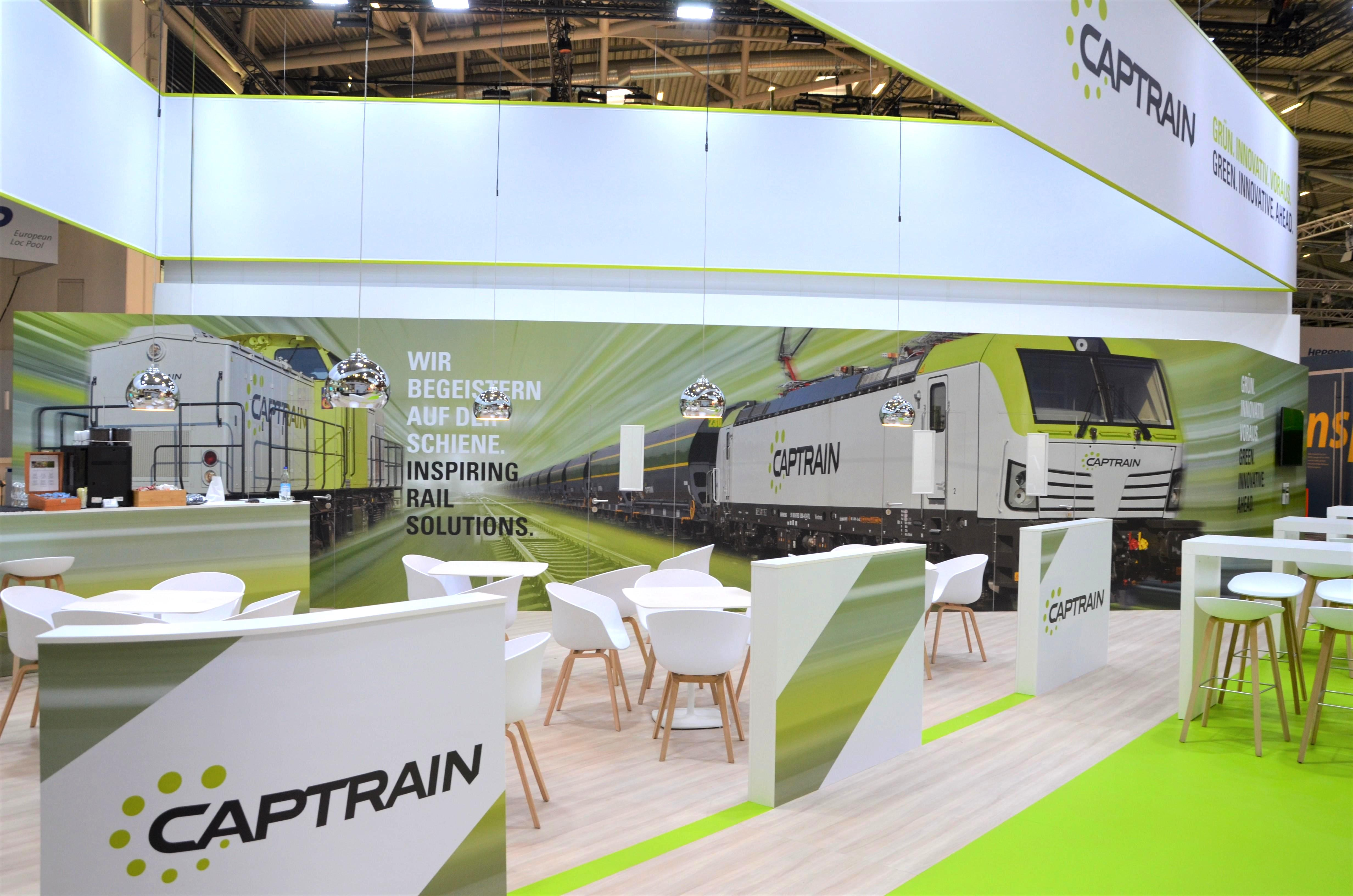Targi Transport Logistic 2019 w Monachium - Captrain